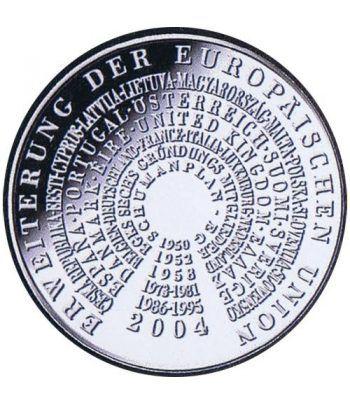 moneda Alemania 10 Euros 2004 G. Ampliación de la UE.  - 1