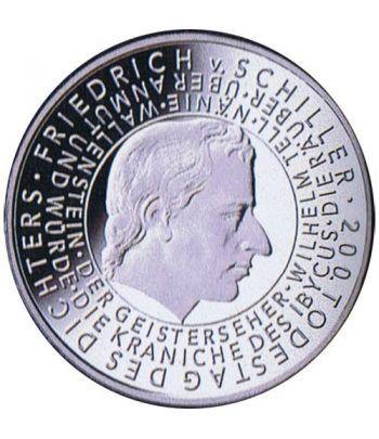 moneda Alemania 10 Euros 2005 G. Friedrich Von Schiller.  - 1