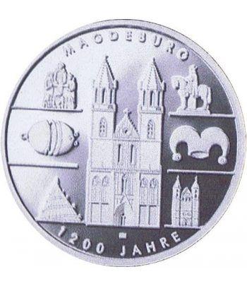 moneda Alemania 10 Euros 2005 A. Magdeburgo. Proof.  - 4