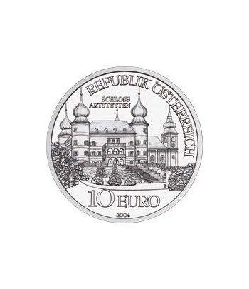 moneda Austria 10 Euros 2004 (Castillo de Artstetten)  - 1