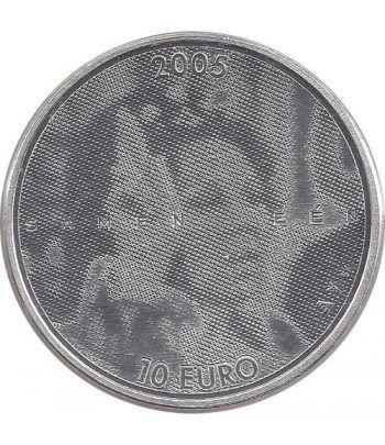 Holanda 10 Euros 2005 (holograma Beatrix)  - 1