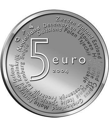 Holanda 5 Euros 2004 Ampliación Unión Europea.  - 1