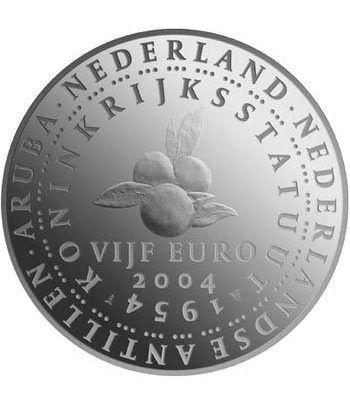 Holanda 5 Euros 2004 50 aniversario constitución  - 1