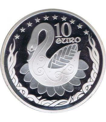Irlanda 10 Euros incorporación Unión Europea 2004. Estuche Proof  - 1
