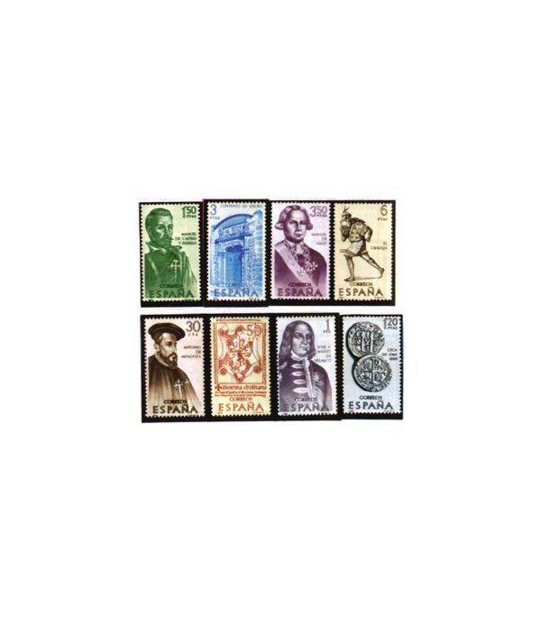 1750/57 VII serie (Forjadores de América)  - 2