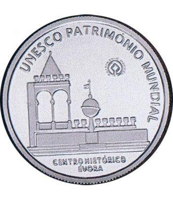 Portugal 5 Euros 2004 Unesco Evora. Plata  - 4