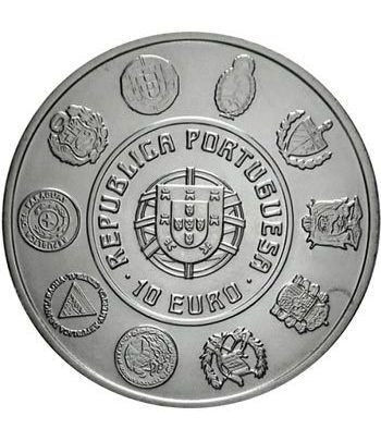 Portugal 10 Euros 2005 VI serie Iberoamericana Arquitectura.  - 1