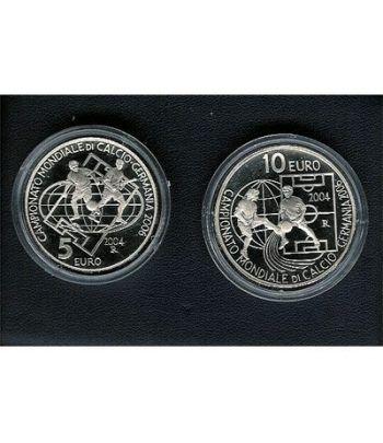 San Marino (5 - 10 Euros) 2004. Sin estuche.  - 2