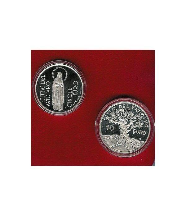 Vaticano 5 - 10 euros (2004) (estuche)  - 2
