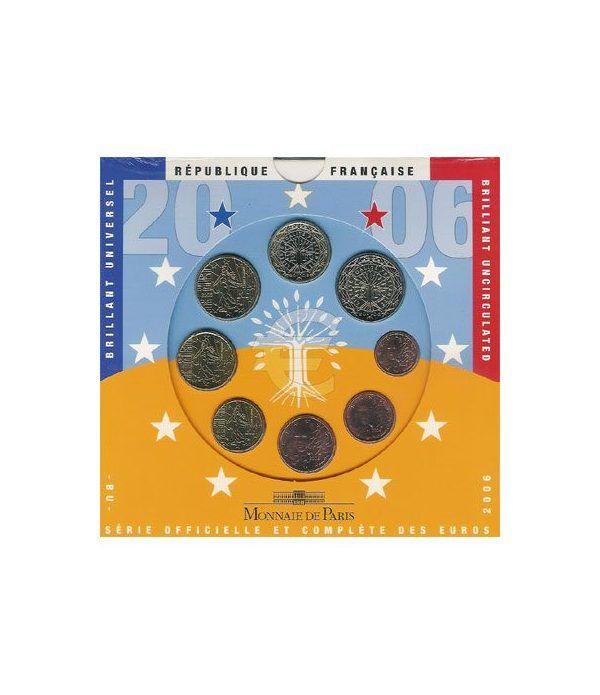 Cartera oficial euroset Francia 2006  - 2