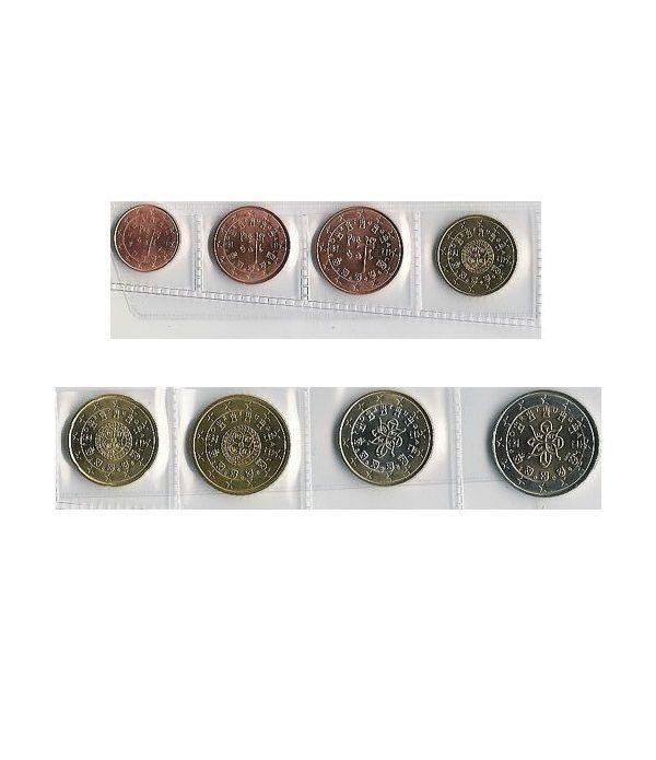 monedas euro serie Portugal 2005  - 2