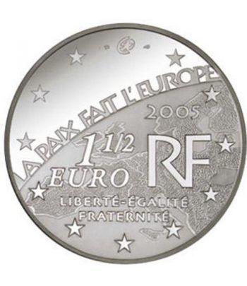Moneda Francia 1 1/2 euro 2005 Paz y Libertad  - 1