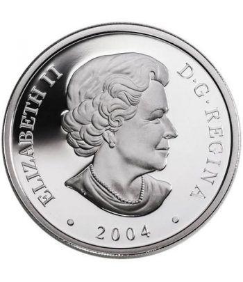 Canada 20$ 2004 Maravillas de la Naturaleza. Rocas Hopewell  - 4