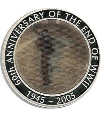 Moneda onza de plata 1$ Australia  60º Aniv. 2ª guerra mundial  - 2