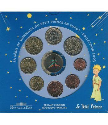 Cartera oficial euroset Francia 2003 (Principito)  - 2