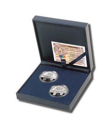 Monedas 2006 20 aniversario CE. Completa. Plata.  - 2