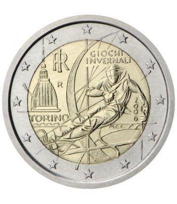 moneda conmemorativa 2 euros Italia 2006.  - 2