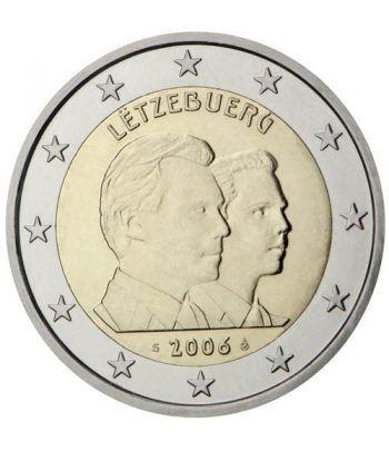 moneda conmemorativa 2 euros Luxemburgo 2006.  - 2