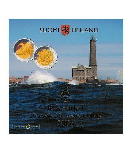 Cartera oficial euroset Finlandia 2006  - 2