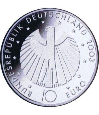 moneda Alemania 10 Euros 2006 Fifa.  - 4