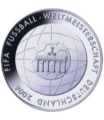 moneda Alemania 10 Euros 2006 Fifa.  - 1