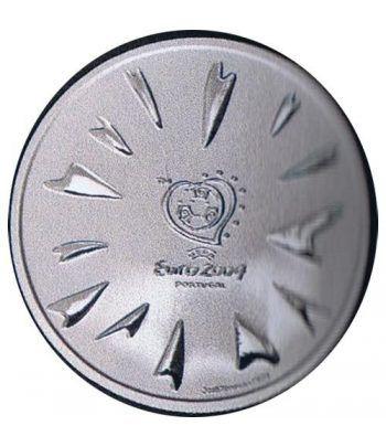 Portugal 8 Euros 2004 UEFA El Gol. Plata.  - 1
