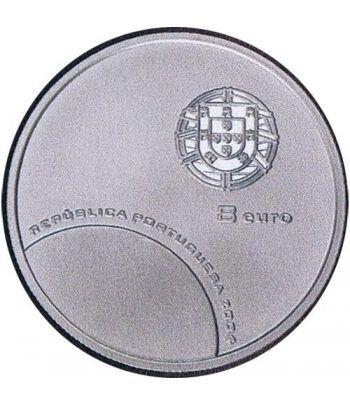 Portugal 8 Euros 2004 UEFA Portero. Plata.  - 2