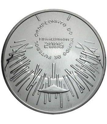 Portugal 10 Euros 2006 Mundial Futbol FIFA Alemania. Plata.  - 2