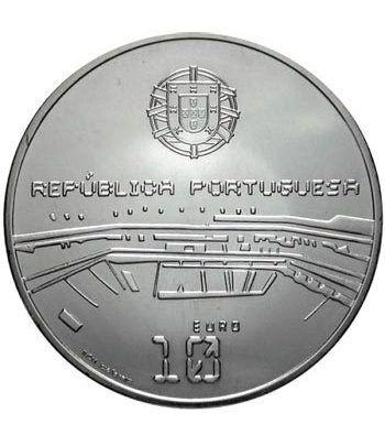 Portugal 10 Euros 2006 Mundial Futbol FIFA Alemania. Plata.  - 4