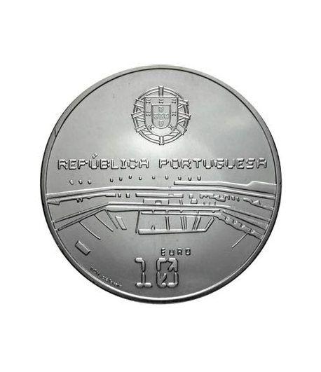 Portugal 10 Euros 2006 Mundial Futbol FIFA Alemania. Plata.  - 1