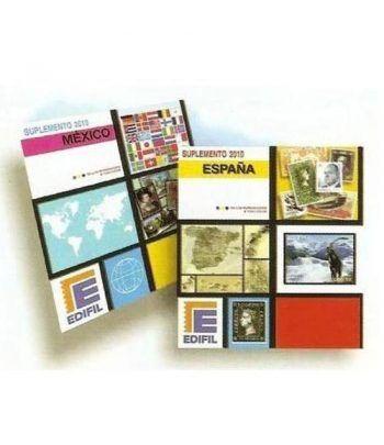 Edifil 'España 1988/1992 B-4 (montado con estuches) Hojas sellos Edifil - 2