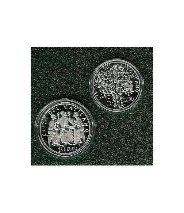 Vaticano 5 - 10 euros (2005) (estuche)  - 2
