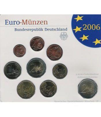 Cartera oficial euroset Alemania 2006 (5 cecas).  - 2