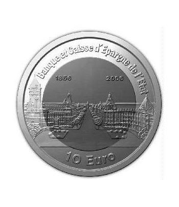 Luxemburgo 10 euros 2006 Banco de Luxemburgo. Titanio  - 4