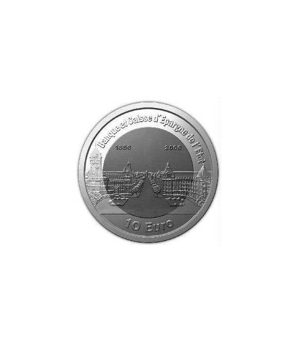 Luxemburgo 10 euros 2006 Banco de Luxemburgo. Titanio  - 1