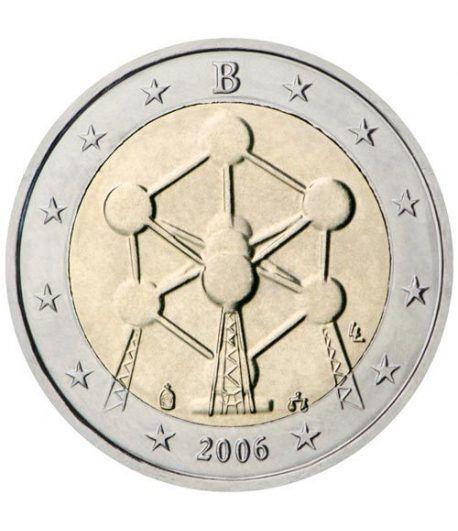 moneda conmemorativa 2 euros Belgica 2006.  - 2