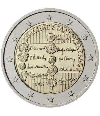 moneda conmemorativa 2 euros Austria 2005.  - 2