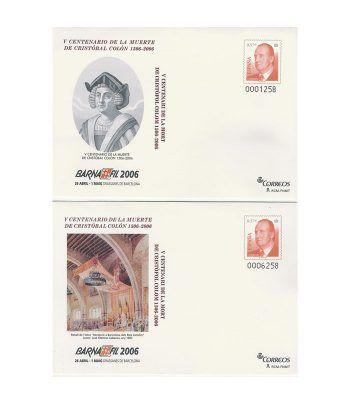 Sobre entero Postal 107/08 Barnafil 2006 Cristobal Colón  - 2