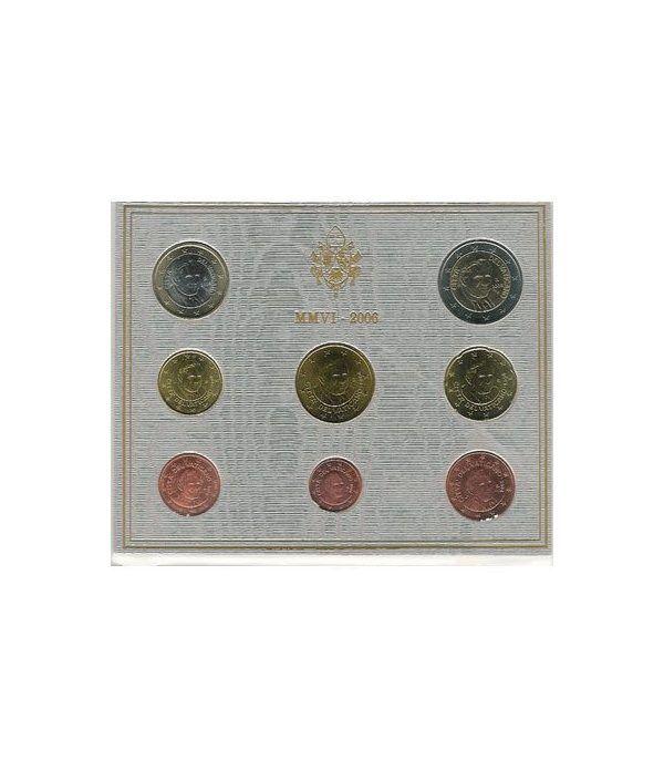 Cartera oficial euroset Vaticano 2006  - 2