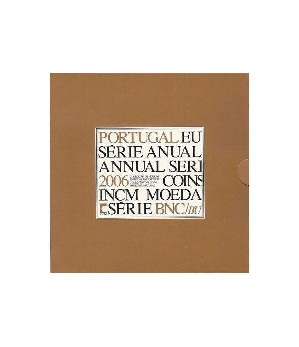 Cartera oficial euroset Portugal 2006  - 2