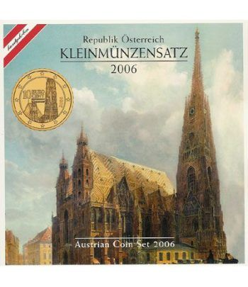 Cartera oficial euroset Austria 2006  - 2