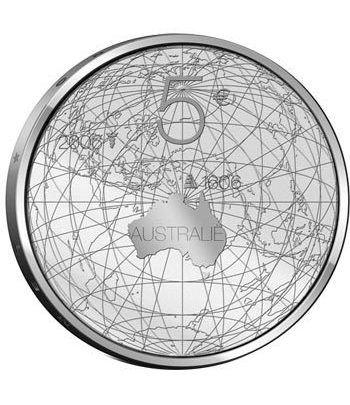 Holanda 5 Euros 2006 4º Centenario descubrimiento de Australia.  - 4