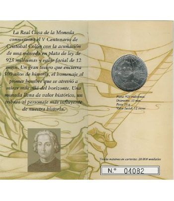 Cartera oficial euroset 12 Euros España 2006 (Colón)  - 4