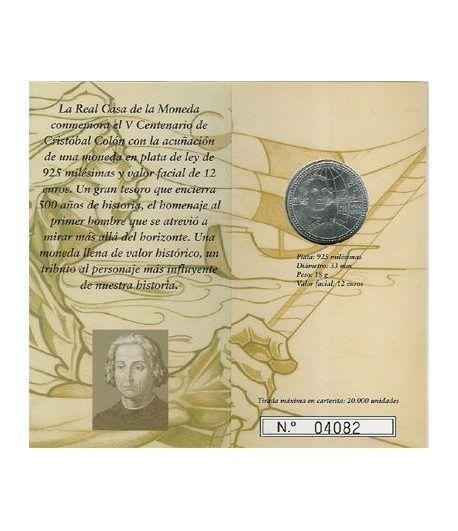 Cartera oficial euroset 12 Euros España 2006 (Colón)  - 1