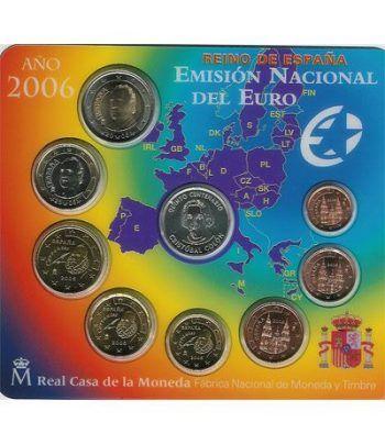 Cartera oficial euroset España 2006 + medalla Plata Colon  - 2