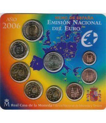 Cartera oficial euroset España 2006 + medalla Plata Adhesión  - 2