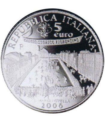 Italia 5 Euros 2006 FIFA Alemania (estuche proof)  - 1