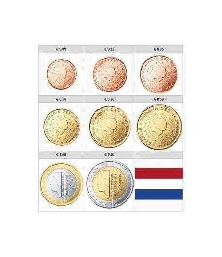 monedas euro serie Holanda 2006  - 2