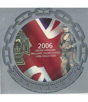 Estuche monedas Inglaterra 2006  - 2