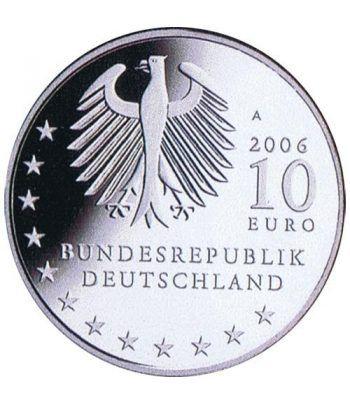 moneda Alemania 10 Euros 2006 A. Dresden.  - 4